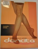 Колготы Dancita №861 (сетка, с ластовицей)