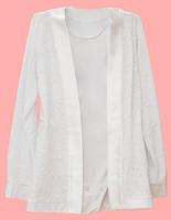 Рубашка-сетка (с боди)
