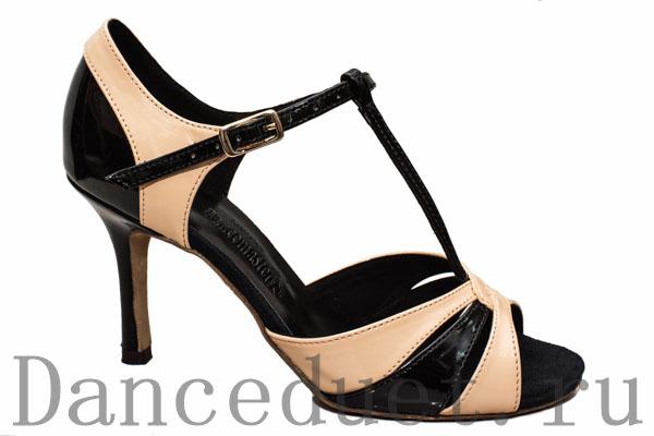 Лаковые туфли для сальсы
